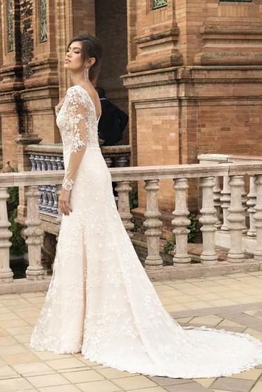 suknia ślubna TO-1096T tył