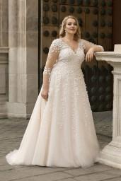 suknia ślubna LO-196T przód