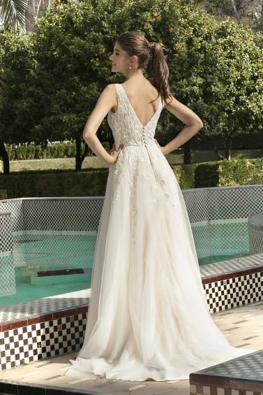 suknia ślubna KA-20024T tył