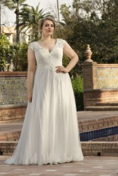 suknia ślubna LO-195T przód