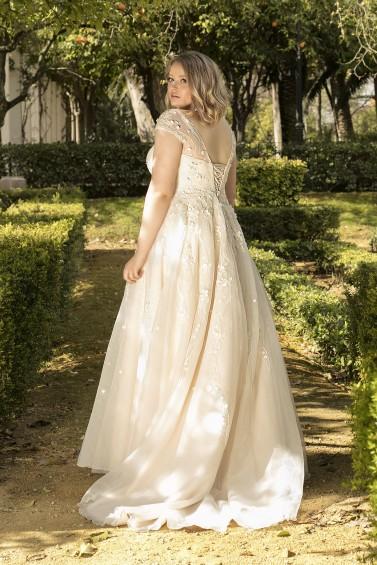 suknia ślubna LO-193T tył