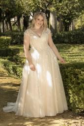 suknia ślubna LO-193T przód