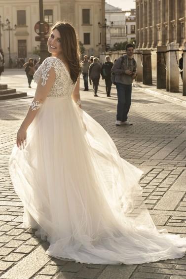 suknia ślubna LO-191T tył