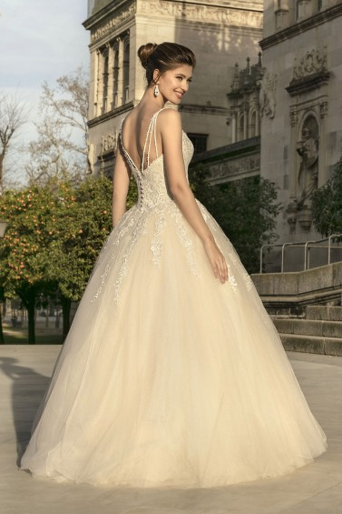 suknia ślubna KA-20013 tył