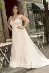 suknia ślubna LO-243T przód