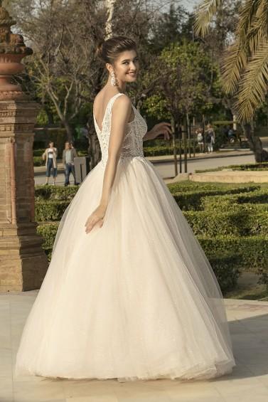 suknia ślubna KA-20003 tył