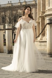 suknia ślubna LO-240T przód