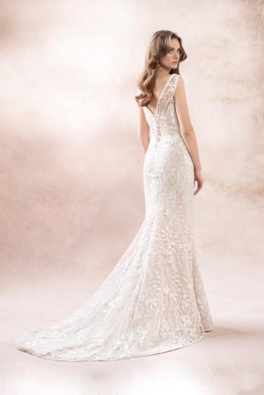 suknia ślubna KA-19014T TR-133 tył