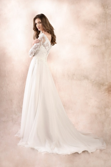 suknia ślubna KA-19047T tył