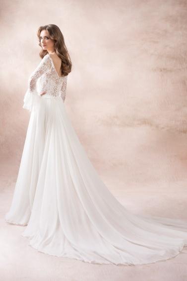 suknia ślubna KA-19050T T-128 tył