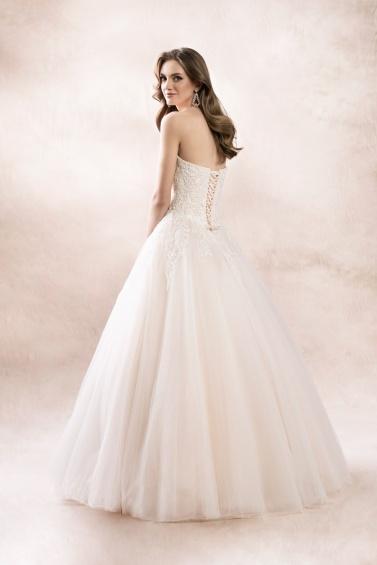 suknia ślubna KA-19106 tył