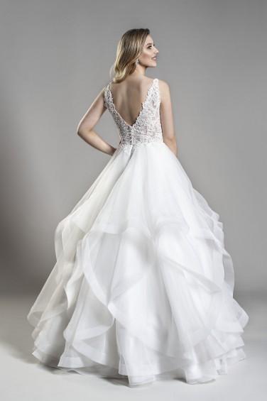 suknia ślubna 19143 tył