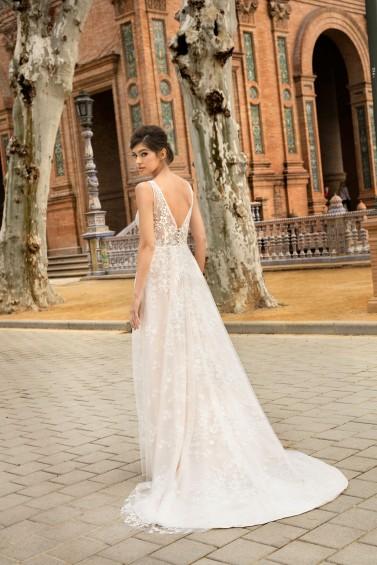 suknia ślubna KA-20031T tył