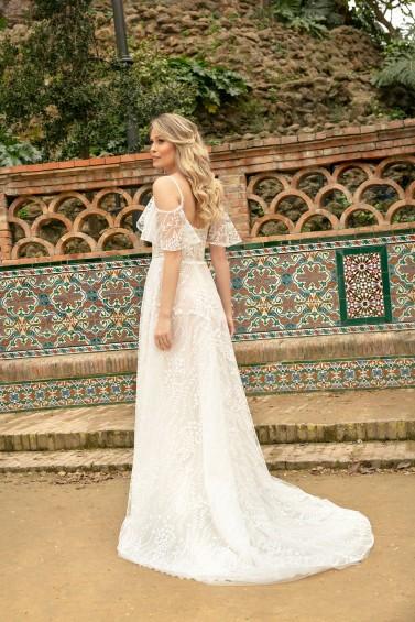 suknia ślubna KA-20036T tył