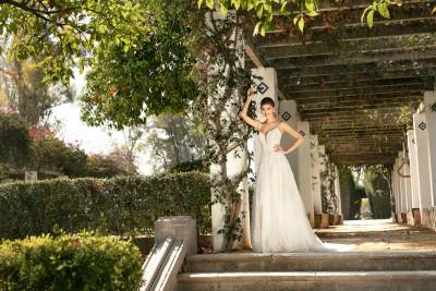 suknia ślubna KA-20055T zbliżenie