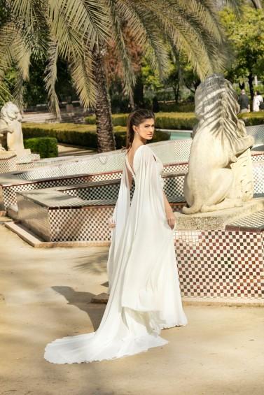 suknia ślubna KA-20079T tył