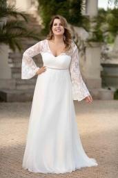 suknia ślubna LO-109TR przód