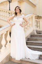 suknia ślubna LO-117T przód