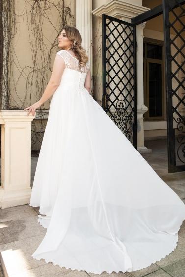 suknia ślubna LO-123T tył