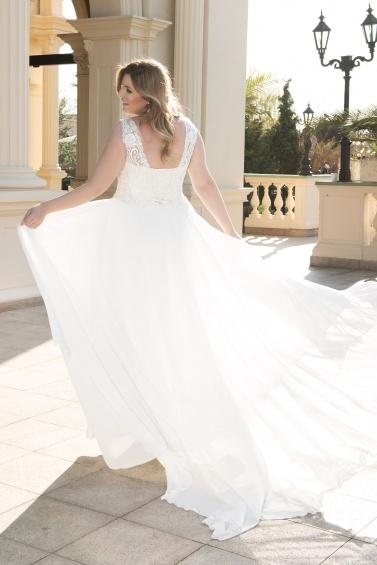 suknia ślubna LO-124T tył