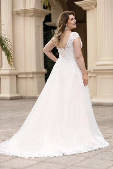 suknia ślubna LO-130T tył