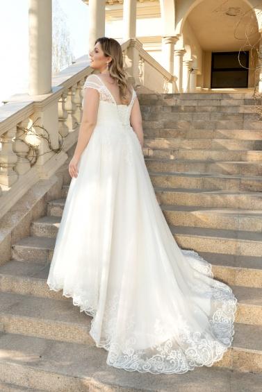 suknia ślubna LO-132T tył