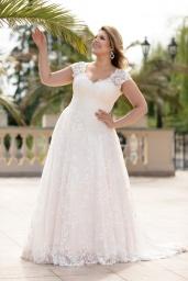 suknia ślubna LO-133T przód