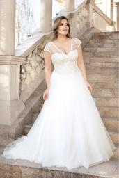 suknia ślubna LO-138T przód