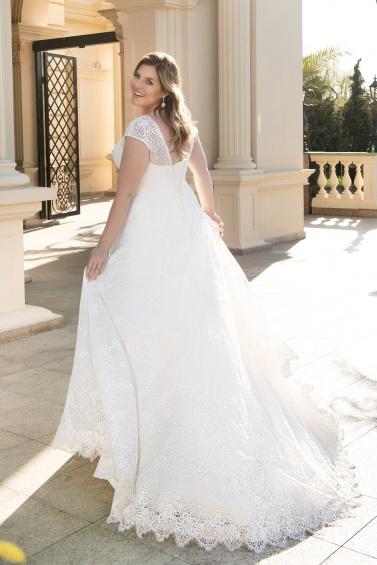suknia ślubna LO-140T tył