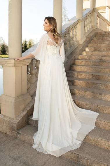 suknia ślubna LO-142T tył