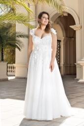 suknia ślubna LO-146T przód