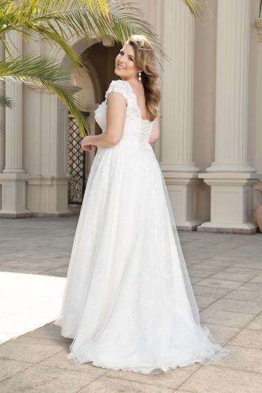 suknia ślubna LO-146T tył
