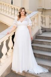 suknia ślubna LO-147T przód