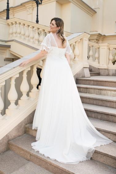 suknia ślubna LO-147T tył