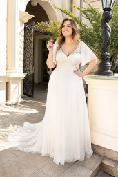 suknia ślubna LO-148T przód