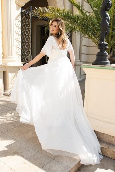 suknia ślubna LO-148T tył