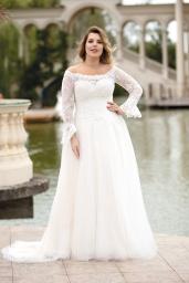 suknia ślubna LO-151T przód