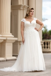suknia ślubna LO-166T przód