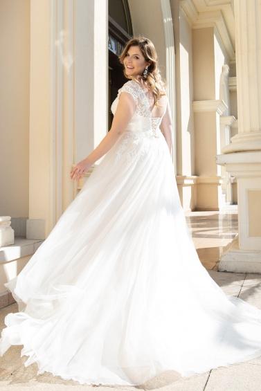 suknia ślubna LO-166T tył