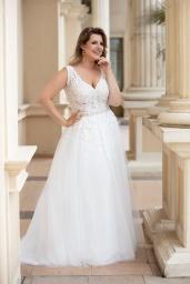 suknia ślubna LO-169T przód