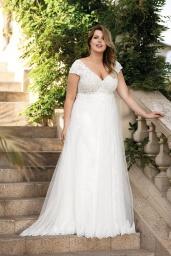 suknia ślubna LO-174T przód