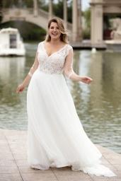 suknia ślubna LO-178T przód