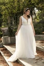 suknia ślubna LO-186T przód