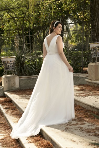 suknia ślubna LO-186T tył