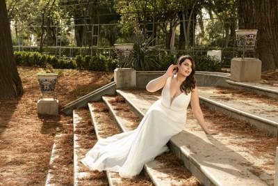 suknia ślubna LO-186T zbliżenie