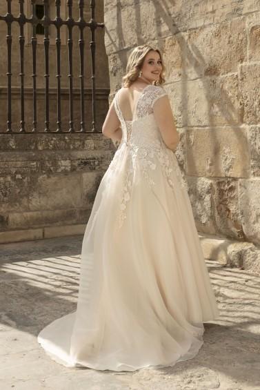 suknia ślubna LO-194T tył