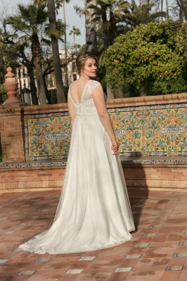 suknia ślubna LO-195T tył