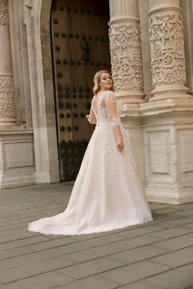 suknia ślubna LO-196T tył