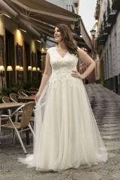 suknia ślubna LO-217T przód