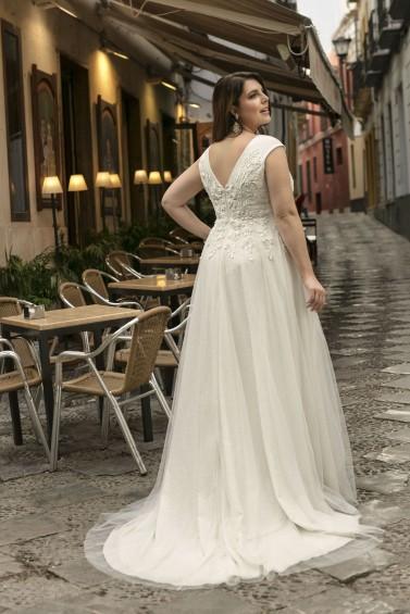 suknia ślubna LO-217T tył
